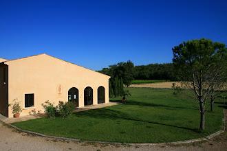 Photo: Château Lafoux . AOC Coteaux Varois en Provence . Tourves . Var