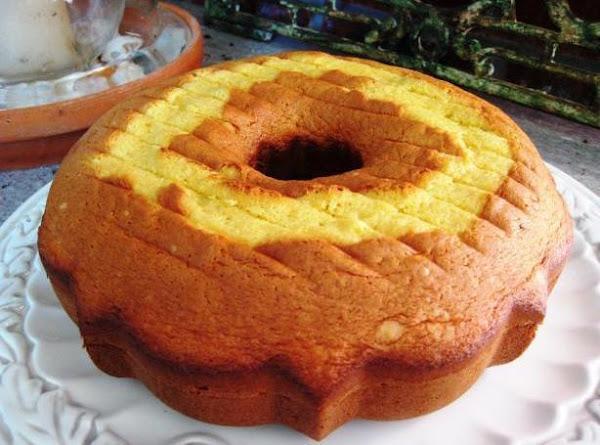 Almond Cream Cheese Pound Cake Recipe