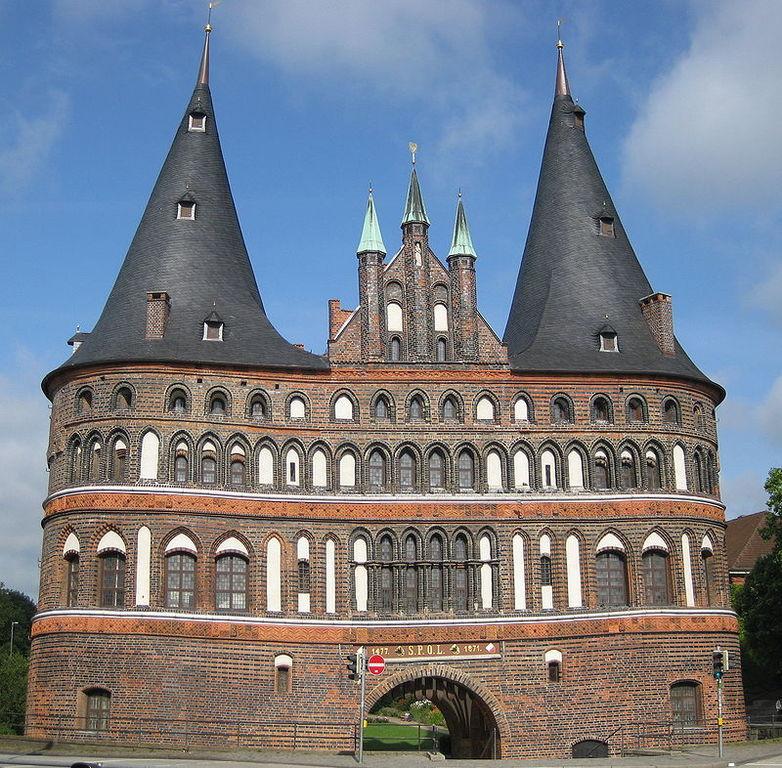 Qué ver en Lubeck-FDN Holstentor Stadtseite