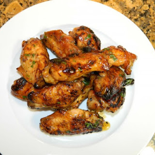 Grilled Wings with Spicy Tropical Glaze