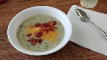 Very Easy Potato Bacon Soup Recipe