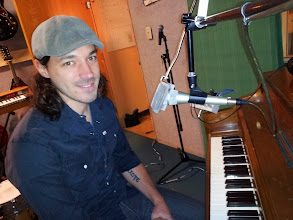 Photo: Post-session pic at the Daytrotter studio. Listen to my session athttp://www.daytrotter.com/#!/concert/kurt-scobie/20056499-37383658