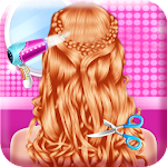 Fashion Braid Hairstyles Salon-girls games 8.9