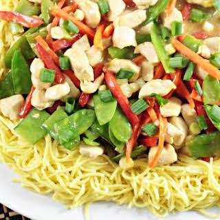 Lemon Drop Chicken Chow Mein #SundaySupper.