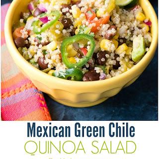 Mexican Green Chile Quinoa Salad.