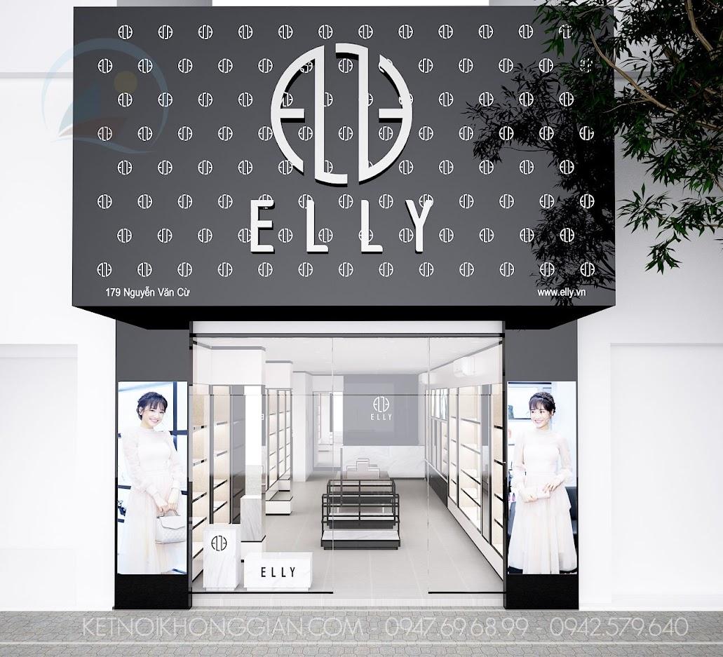 thiet ke shop tui xach thoi trang Elly