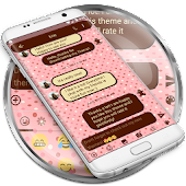 SMS Messages Love Chocolate Theme