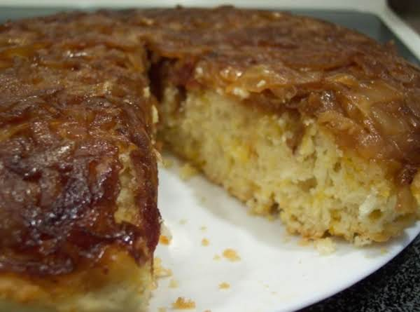 Caramelized Onion Upside-down Bread