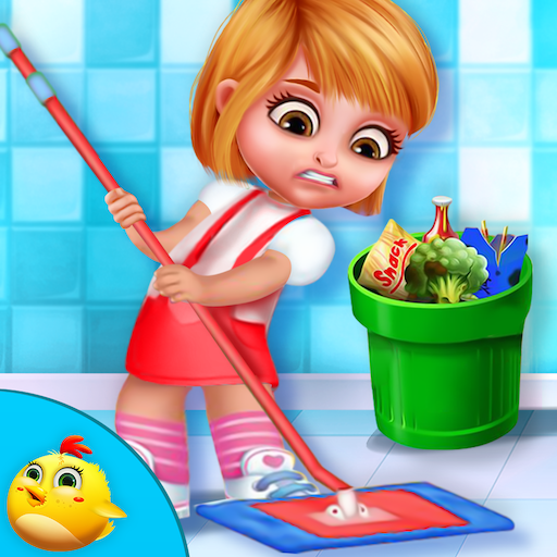 My Princess Doll House Cleanup 休閒 App LOGO-APP開箱王