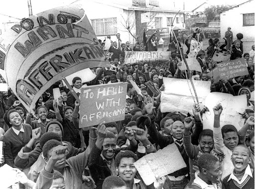 The students of June 16 1976 were in good spirits when they embarked on their protest against the use of Afrikaans as a medium of instruction at their schools.