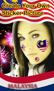 Malaysia Independence Day Photo Frame-HD Sticker - náhled