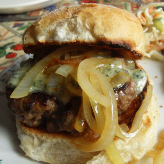 Steak Burgers with Stilton and Ale.