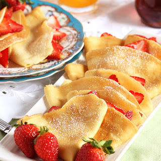 The Very Best Basic Crepe.