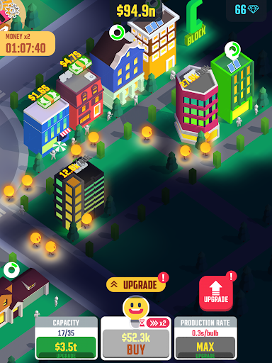 Idle Light City apktram screenshots 8