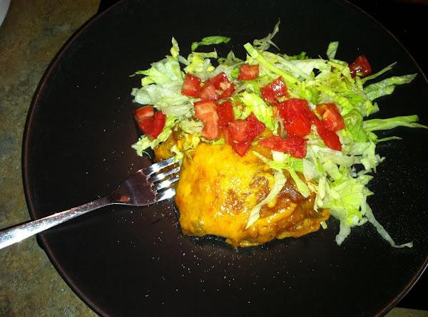 Stacked Pork Enchilada's Recipe