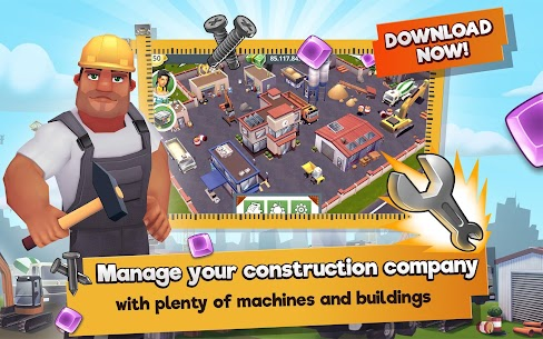Construction Hero MOD APK 1.0.542 [Unlimited Diamonds + Cash] 9