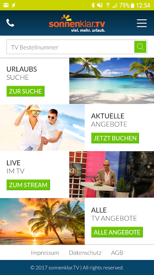 sonnenklar.TV – Günstig Reisen- screenshot