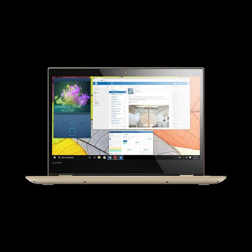 Máy tính xách tay/ Laptop Lenovo Yoga 520-14IKB-80X8005RVN (I3-7100U) (Vàng)