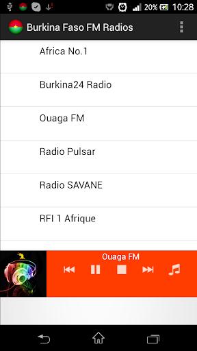 Burkina Faso FM Radios