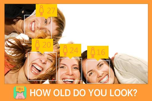 年龄分析照相机