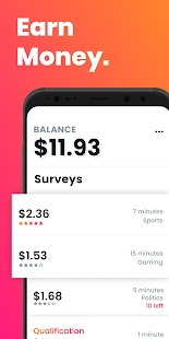Poll Pay: Make money & free gift cards w/ a survey Screenshot