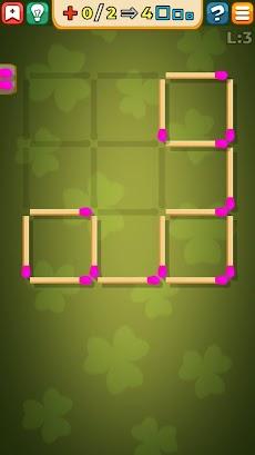 マッチ棒パズルゲームのおすすめ画像4
