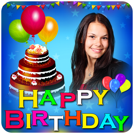 Name Photo on birthday cake: Photo Frames, wishes file APK for Gaming PC/PS3/PS4 Smart TV