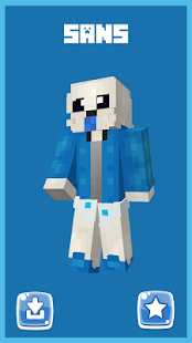 Skins Undertale for MCPE! - náhled