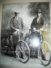 Photo: Vat su tokiais dviračiais ir važinėjo