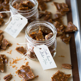Buttery Maple Pecan Toffee