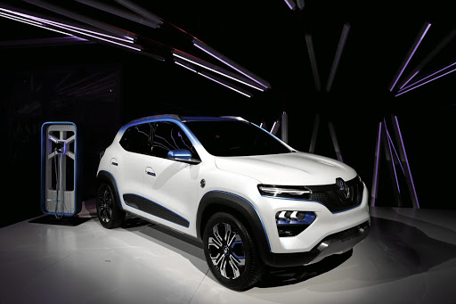 The Renault K-ZE unveiled in Paris is one of a raft of new electric vehicles about to reach the market. Picture: SUPPLIED