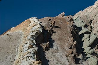 Photo: Colorful geology in Rainbow Basin National Natural Landmark