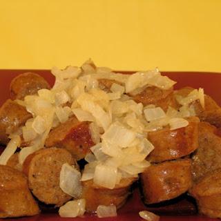 Sweet Onion Kielbasa.