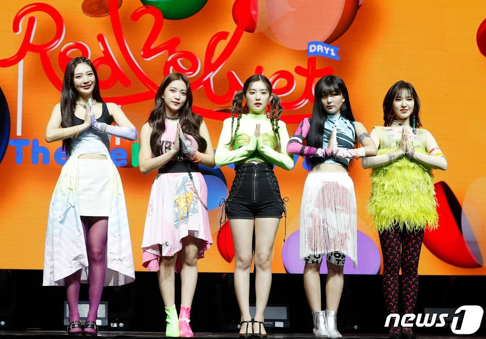 red velvet showcase