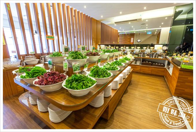 上竹林食草館養生汆燙鍋野菜