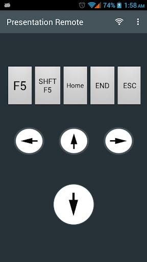 WiFi Presentation Remote 11.0 screenshots 1