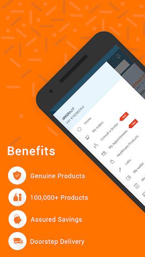 Medlife - No. 1 Online Pharmacy & Healthcare App screenshot 2
