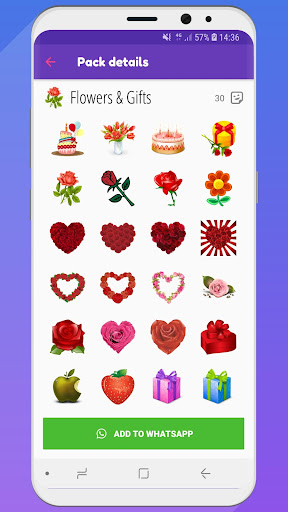 ? WeLove : love stickers (WAStickerApps) 2.2 screenshots 7