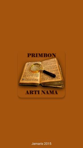 Primbon - Arti Nama
