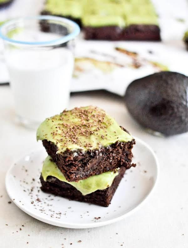Fudgy Avocado Brownies Recipe