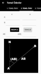 GeoClass Surveying Calculator - náhled