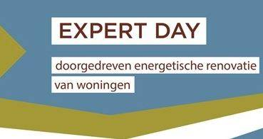 EXPERT DAY - Doorgedreven energetische woningrenovaties