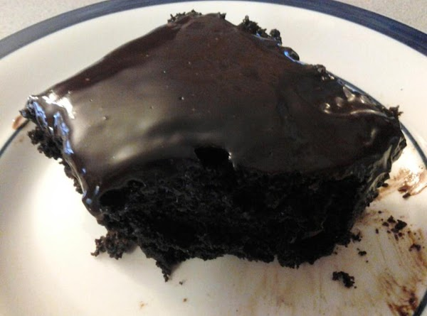 Chocolate Banana Cake With Choco Ganache On Top Recipe