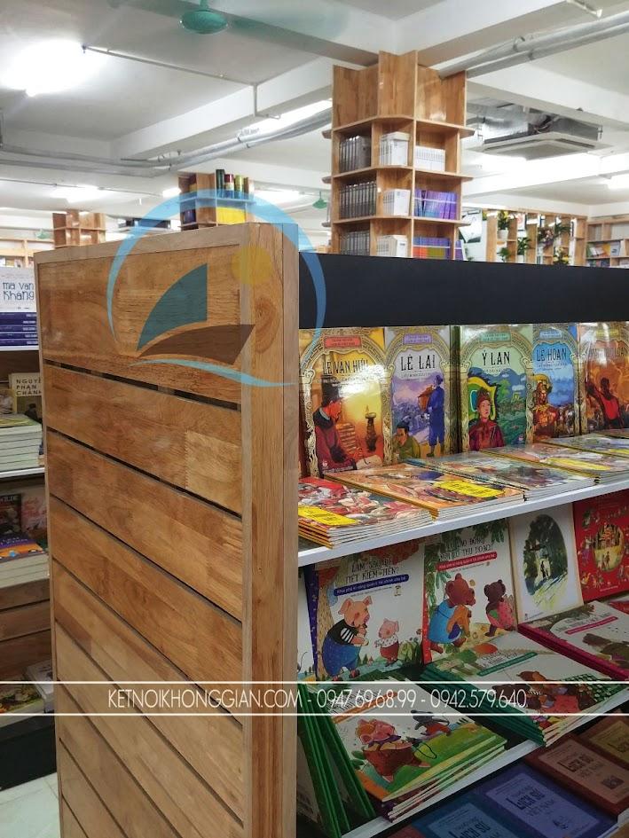 thiết kế thi công nội thất nhà sách Trí Đức 11