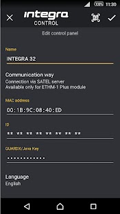 INTEGRA CONTROL- screenshot thumbnail