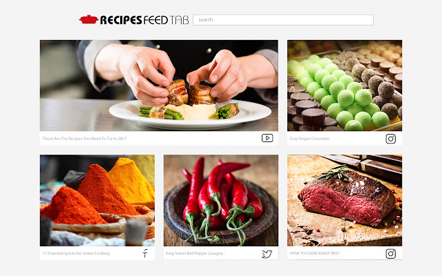 Recipes Feed Tab