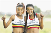 TWIN THREAT: The Phalula twins, Lebogang and Lebo