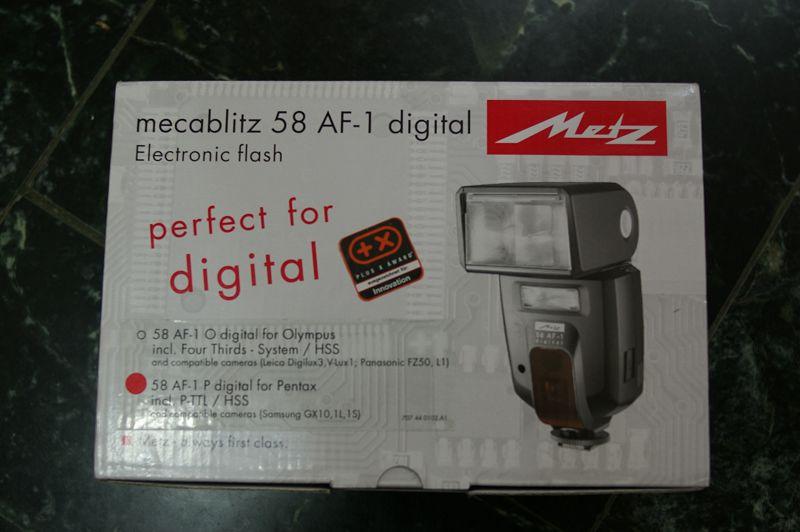 Metz 58AF for Pentax 不專業開箱文