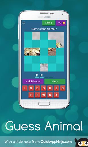 Guess The Animal, Guessing Game screenshot 1