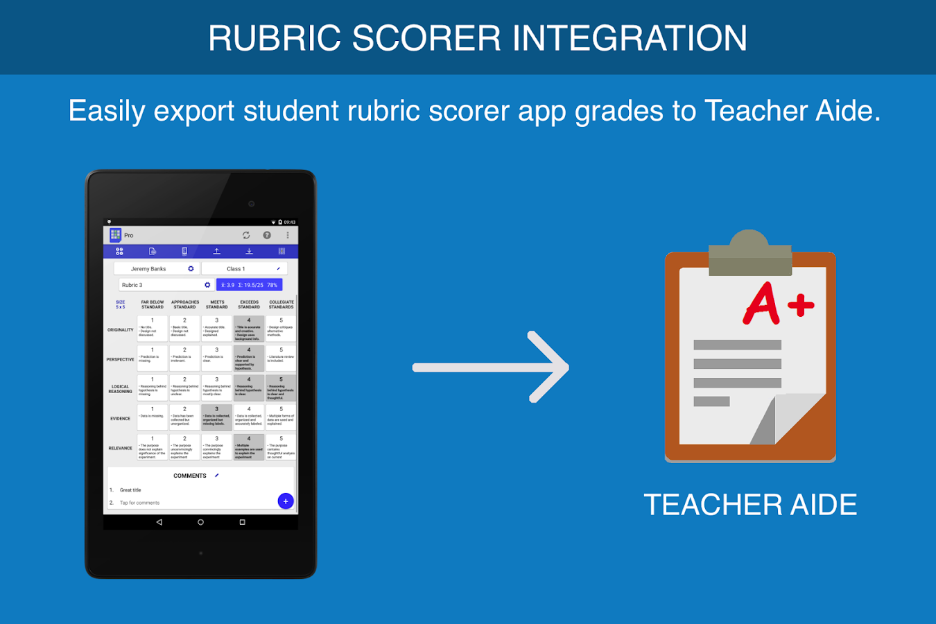 Teacher Aide- screenshot